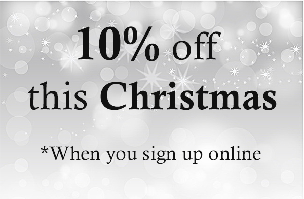 10% off Christmas Discount