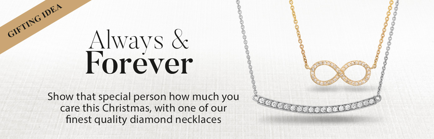 Diamond Necklace & Pendant Christmas Gifts