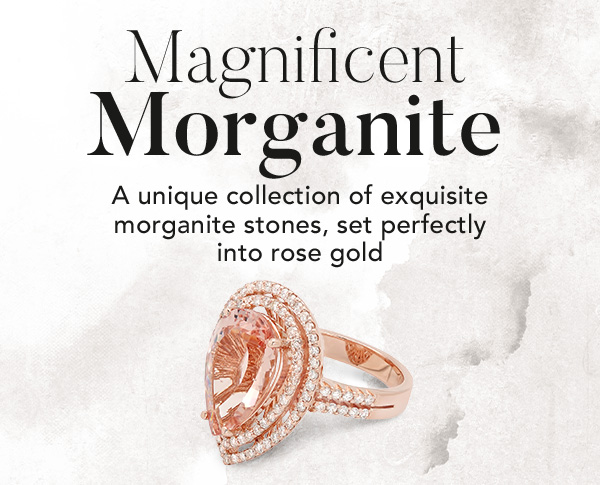 Morganite & Diamond Rings