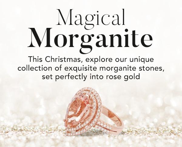 Morganite & Diamond Rings Christmas