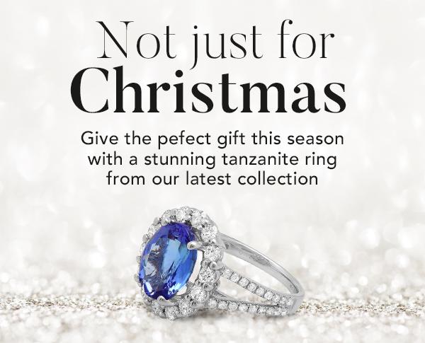 Tanzanite and Diamond Ring Christmas Gift